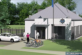 Budowa Posterunku Policji w Mircu