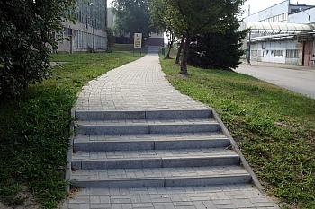 Remont chodnika NSK