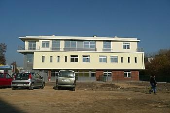 Budowa budynku ul. Okrzei