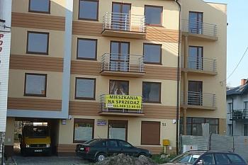 Budowa budynku ul. Okrzei, Kielce