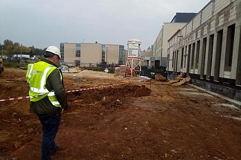 Budowa na Onkologii w Kielcach