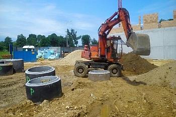 Budowa w Podzamczu